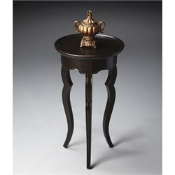 Butler Specialty Loft Round Accent Table in Rubbed Black