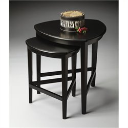 Butler Specialty Loft Nesting Tables in Black Licorice