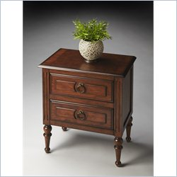 Butler Specialty Masterpiece Side Table in Nutmeg