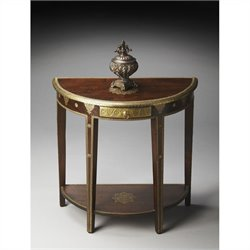 Butler Specialty Artifacts Demilune Console Table