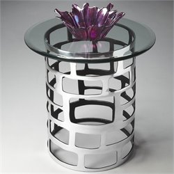 Butler Specialty Butler Loft Accent Table with Aluminium Base