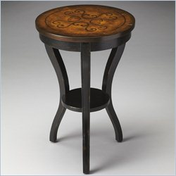 Butler Specialty Masterpiece Kendall Black and Tan Side Table