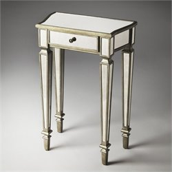 Butler Specialty Masterpiece Celeste Mirrored Console Table