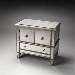 Butler Specialty Masterpiece Celeste Mirrored Console Accent Chest