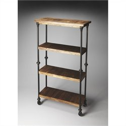 Butler Specialty Fontainbleau Industrial Chic Bookcase