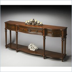 Butler Specialty Masterpiece Console Table with 3 Drawers