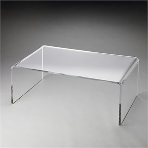 Butler Specialty Butler Loft  Crystal Clear Cocktail Table in Acrylic