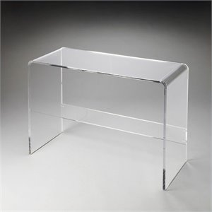 Butler Specialty Butler Loft Crystal Clear Console Table in Acrylic