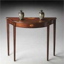 Butler Specialty Masterpiece Chester Console Table in Olive Ash Burl