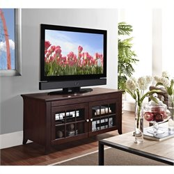 "Tech Craft 48"" Wide TV Stand in Walnut"