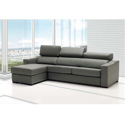 ESF Style Nectar Living Lucas Sectional in Grey