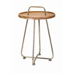 IMAX Corporation Tait Occasional Table in Brown
