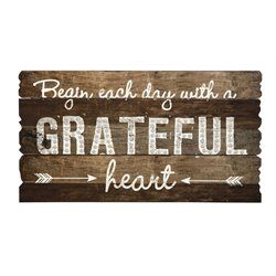 IMAX Corporation Grateful Heart Wall Panel in Brown