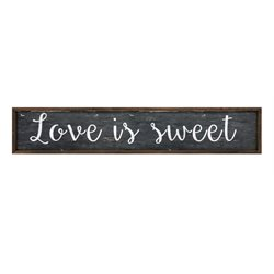 IMAX Corporation Love Is Sweet Wall Panel in Black