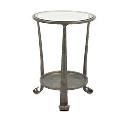 IMAX Corporation Gregory Occasional Table in Gray