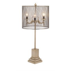IMAX Corporation Anna Table Lamp in Brown