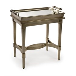 IMAX Corporation Luna Tray Top Table in Bronze