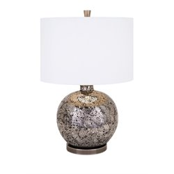 IMAX Corporation Vista Mosaic Glass Table Lamp in Bronze