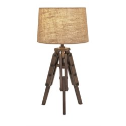 IMAX Corporation Concord Table Lamp in Brown