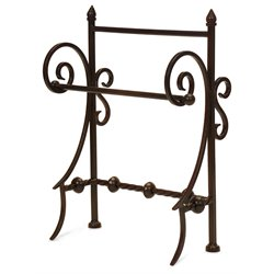 IMAX Corporation Iron Towel Holder in Brown