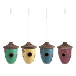 IMAX Corporation Tahiti 4 Piece Birdhouse Set