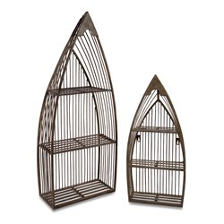IMAX Corporation Nesting Boat Shelves (Set of 2)