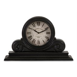 IMAX Corporation Windsor Mantle Clock in Black