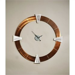 NOVA Lighting Decoround Roman Clock in Bronze