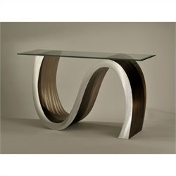 Nova California Meandering Console Table in Root Beer