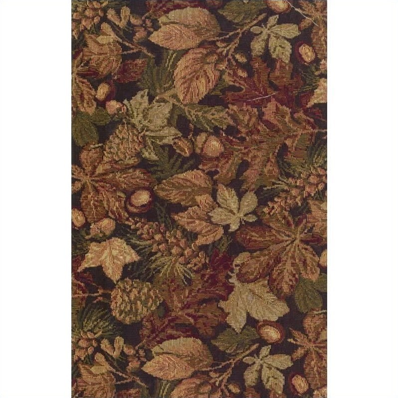 Blazing Needles Tapestry Full Size Futon Cover in Autumn Harvest