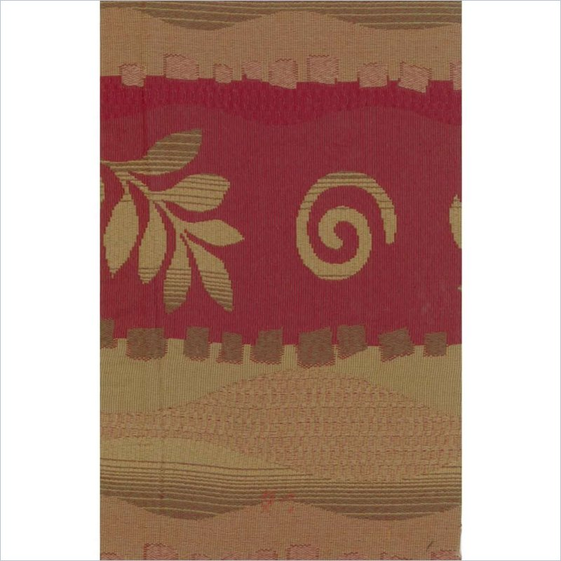 Tapestry Full Size Futon Cover in Squiggles and Leaves
