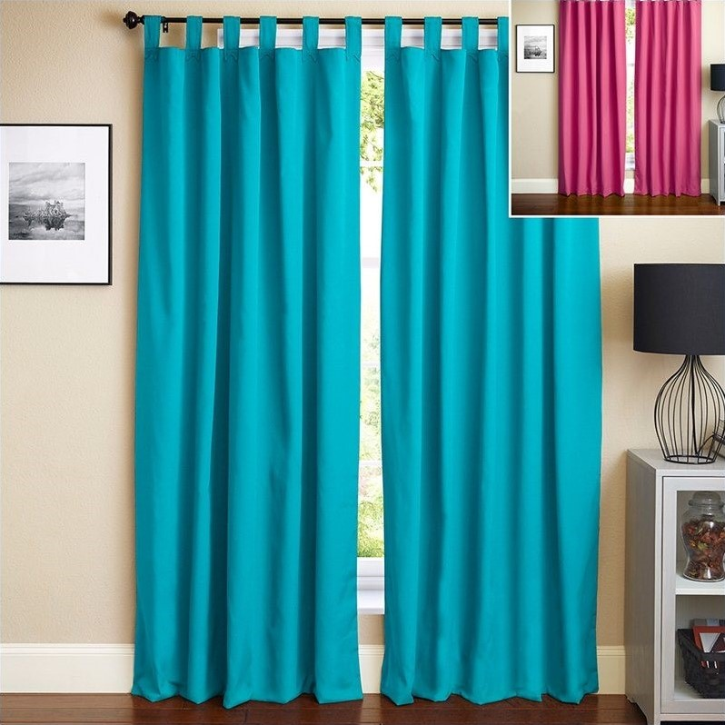 Snowders tab top sheer curtains hotel quality shower for Portable window curtain