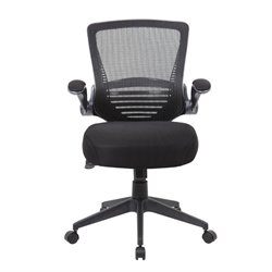 Contemporary Mesh Task Chair in Black