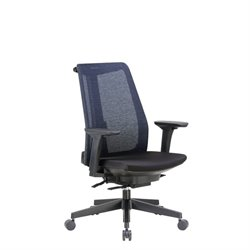 Boss Office Contemporary Mesh Executive Chair in Black