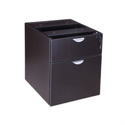 Hanging File Cabinet in Mocha