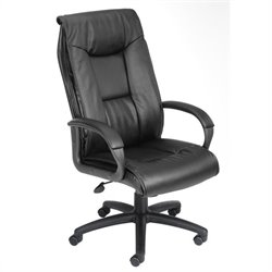 Boss Office Products Pillow Top Design Office Chair - Spring-tilt