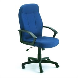 Boss Office Products Fabric Task Chair with Arms - Burgundy