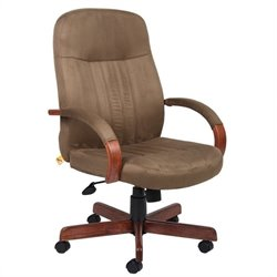 Boss Office Products High Back Executive Office Chair