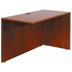 Boss Office Products Reversible Return - Mahogany