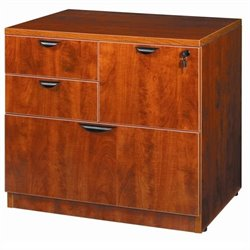 Combo Lateral Filing Cabinet in Cherry