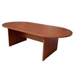 Boss Office Products Racetrack Conference Table - Mahogany