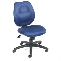 Boss Office Products Ratched Back Molded Foam Task Chair - Black