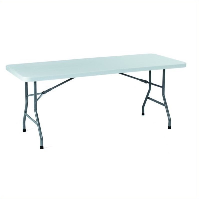Boss Office Products Blow Molded Folding Table