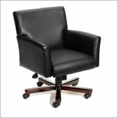 Boss Office Products Caressoft Executive Box Arm Chair