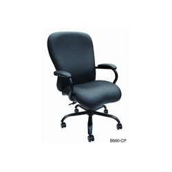 Boss Office Products Big Man's Office Chair with Pneumatic Seat Height Adjustment