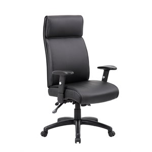 Boss Multi-Function Executive High Back Chair with Seat Slider