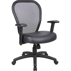 Boss Office Products Mesh Arm Office Chair with Adjustment Lever