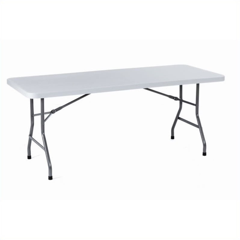 Boss Office Products Molded Folding Table - 30