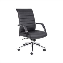 Boss Office Executive High Back Ribbed Chair