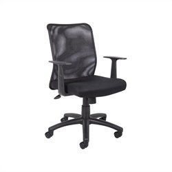 Boss Office Mesh Task Chair with T-Arms